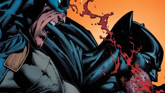 """Cover of Batman """"I Am Gotham"""" Part 5."""
