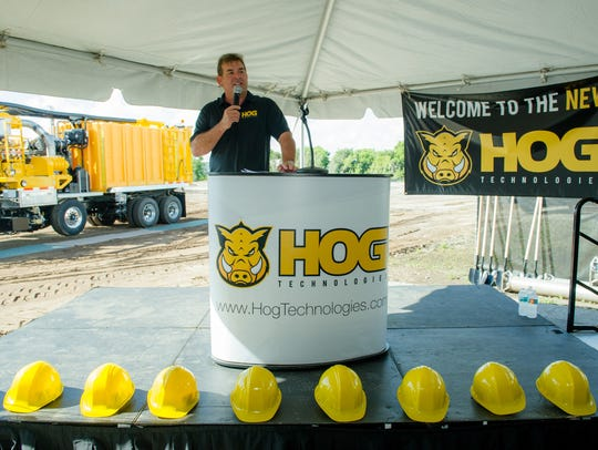 Hog Technologies founder James Crocker