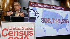 Census Bureau Director Robert Groves announces results