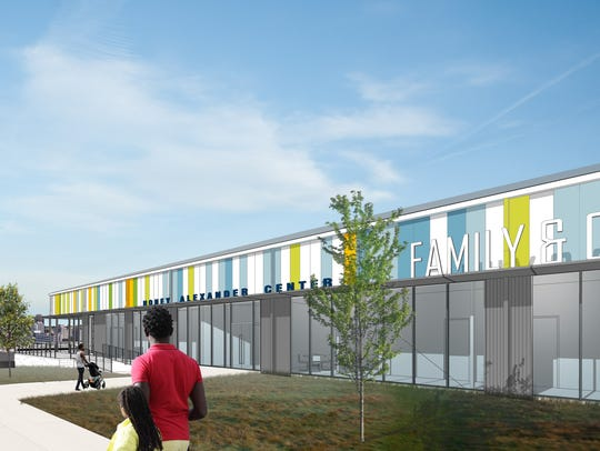 Family & Children's Service's new headquarters on Clifton
