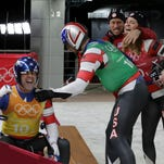 Team USA and York County's Summer Britcher fourth in luge team relay in Olympics