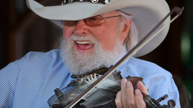 Charlie Daniels performs at Indian Ranch in Webster in 2014.
