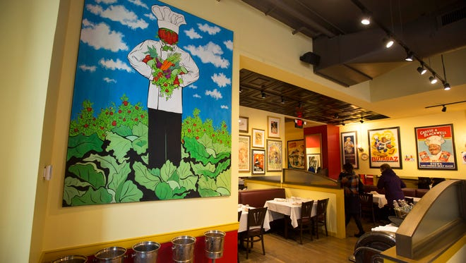 Jean-Robert de Cavel's newest restaurant is French Crust. It sits just across the street from the Findlay Market entrance on Elm Street.