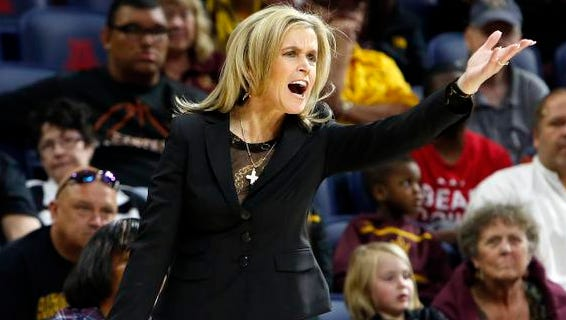 Charli Turner Thorne and her No. 8 ASU women's basketball team will try for a school record-tying 15th straight win Friday at Oregon.
