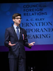 "Connor Rothschild ears title of National Champion, after winning his final debate answering the question: ""Was the US war in Afghanistan in vain?"" after 13 rounds of competition."