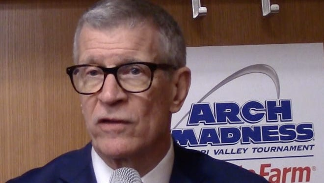 MVC commissioner Doug Elgin sees challenging times ahead for Valley basketball as decisions are made during the coronavirus pandemic.