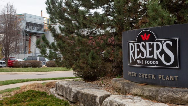 Topeka's Reser's Fine Foods plant will be closed for 14 days after multiple employees tested positive for the coronavirus.