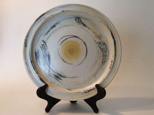 Carole Berhorst of Bloomfield Hills will be showing her ceramics at the Ann Arbor Summer Art Fair.