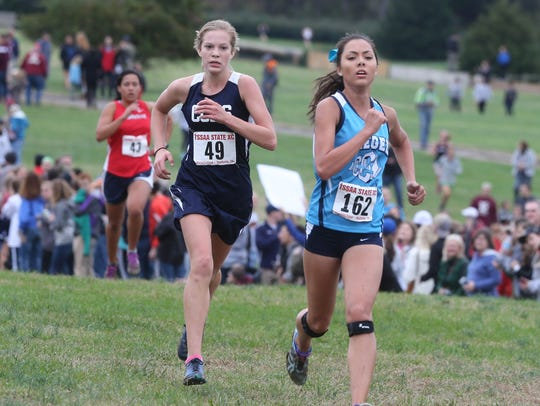 Siegel's Caitlin Cunningham (right) will sign Wednesday