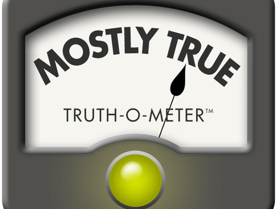 PolitiFact Mostly True rating