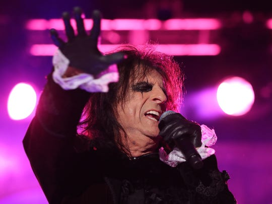 Alice Cooper will perform on Oct. 5 at Old National Centre.