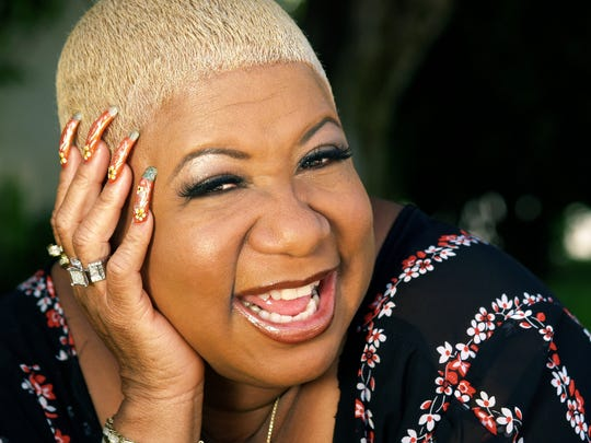 Popular actress and comedian Luenell will perform Friday during Comedy All-Stars Stand Up For Our Troops at the Abraham Chavez Theatre.