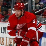 Red Wings forward Justin Abdelkader