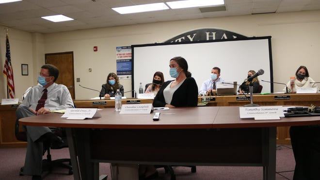 Port Jervis Mayor Kelly Decker presented a budget with an 8.39 percent tax hike to the Common Council on Tuesday.