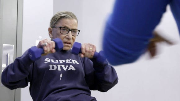 At 85, Justice Ruth Bader Ginsburg is an unlikely pop-culture