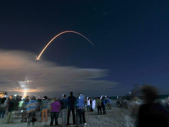 Cocoa Beach Launch