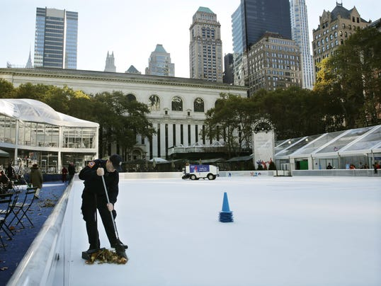 nyc ice rink bryant park
