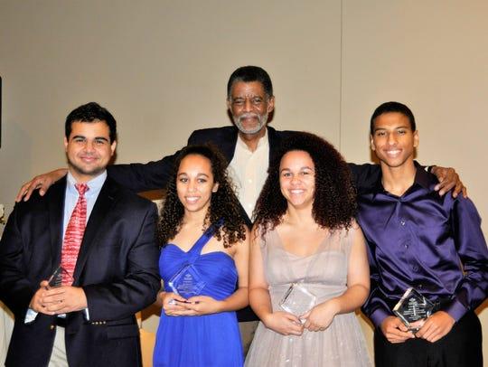 The 2015 Norman E. Johns Scholarship winners: Mahmoud