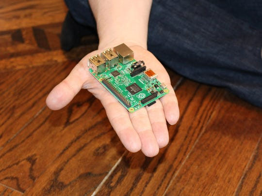 The Raspberry Pi 2 (Model B) comes without a monitor or keyboard, but it's a powerful little engine.