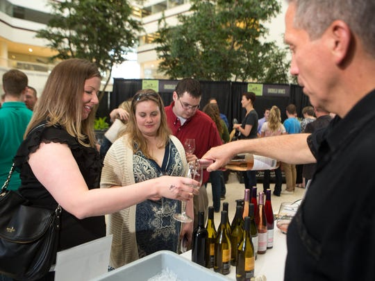 Sips & the City is a Winefest favorite for young professionals.