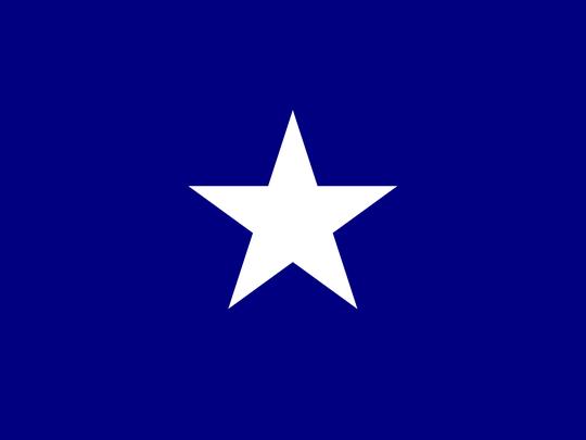Flag Bonnie Blue