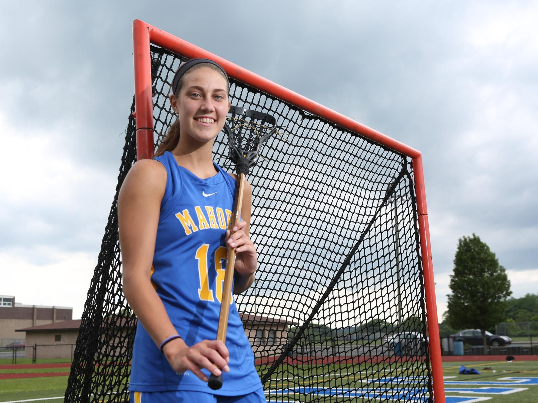Westchester/Putnam Girls Lacrosse Player of the Year, Mahopac's Kim Harker poses at Mahopac High School June 19, 2015.