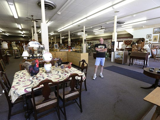 Owner Russ Turk says he wants to keep his new antique store, Russtiques Emporium, spacious and uncluttered at 90 South Main St. in downtown Fond du Lac.