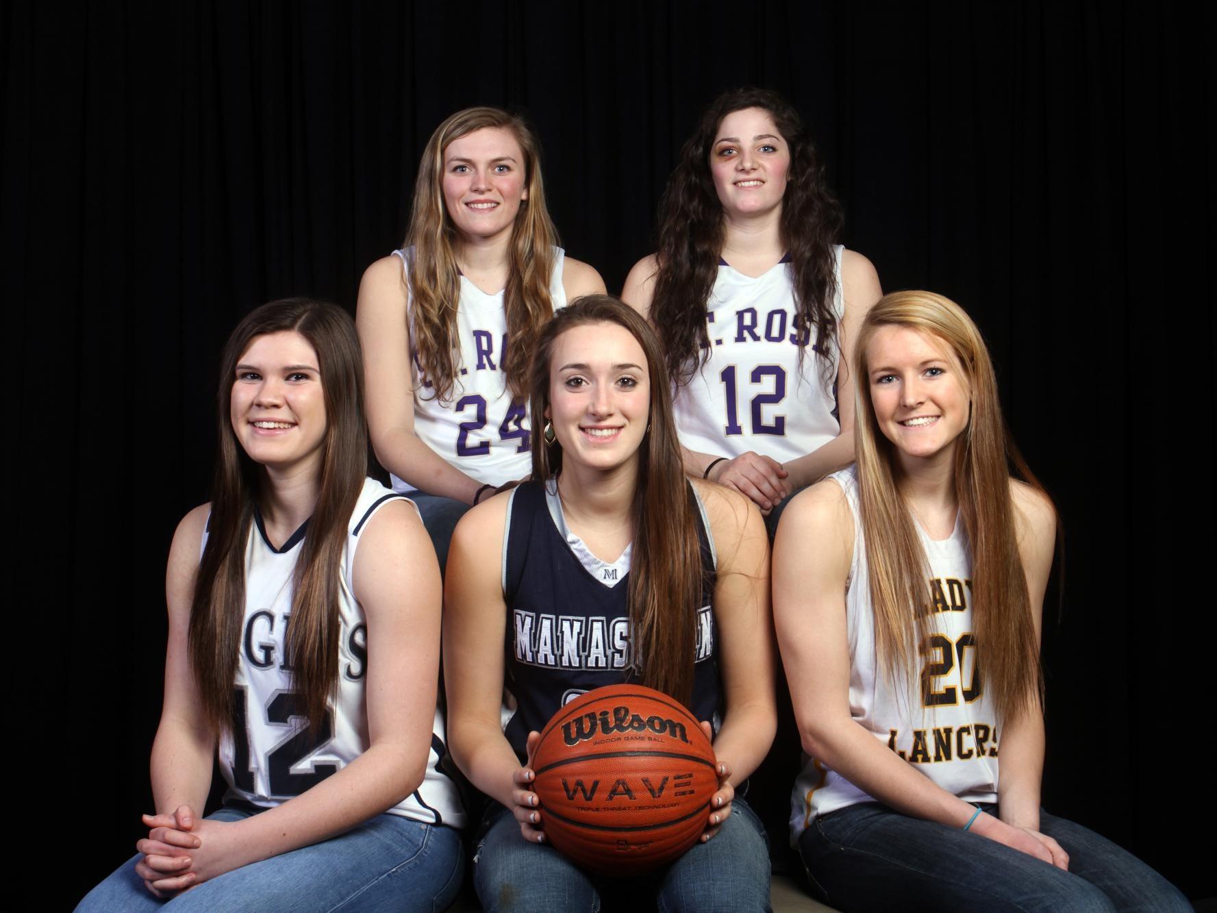 The 2014-15 Asbury Park Press All-Shore Girls Basketball Team.