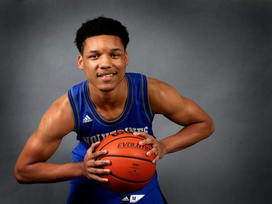 La Vergne's Marquis Davis was named to The DNJ's All-Area first team a year ago.