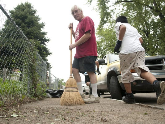 INI Community clean-up