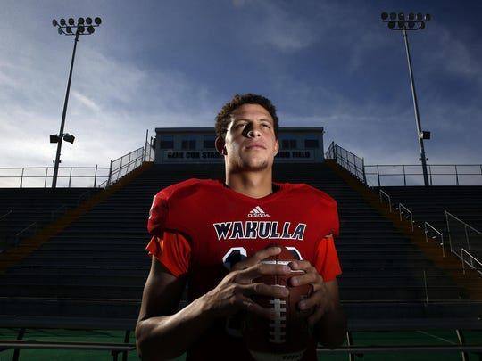 Wakulla senior quarterback Feleipe Franks is the 2015 All-Big Bend Offensive Player of the Year after throwing for 2,723 yards with 35 touchdowns and just two interceptions. Franks has signed to play collegiately with the University of Florida.