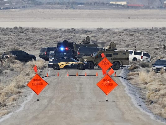 Oregon standoff in Harney County
