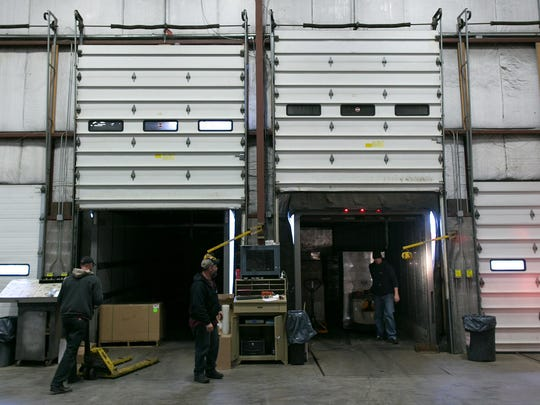 Products are loaded and unloaded at Regional Distributors