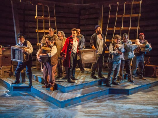 """""""Peter and the Starcatcher"""" runs through Feb. 21 at Kitchen Theatre Company."""