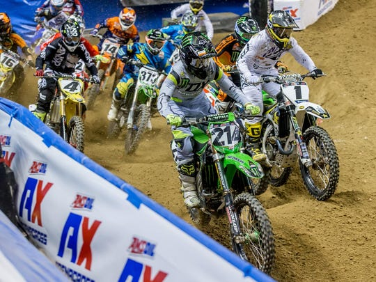 AMSOIL Arenacross comes to the Cajundome at 7 p.m. March 12 and noon March 13.