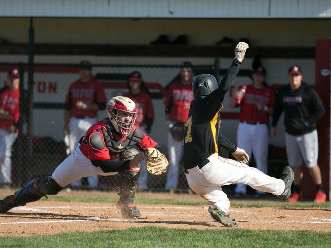 MB Athena Hilton Baseball A 042716 Sports