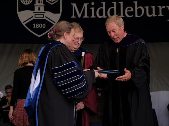 Middlebury College's 2016 Commencement weekend