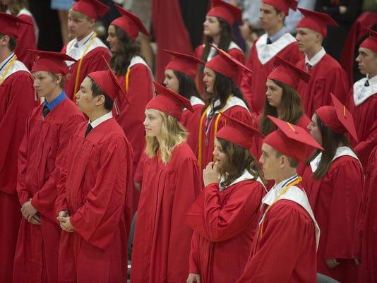 SPJ Pacelli HS Graduates SA 03