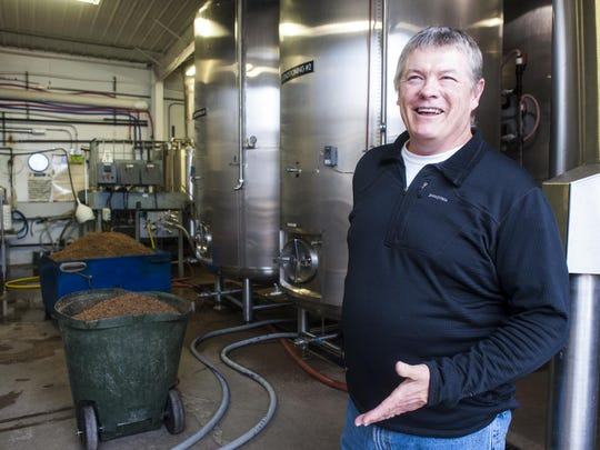 Harvest Moon Brewing co-owner and co-brewer Stan Guedesse