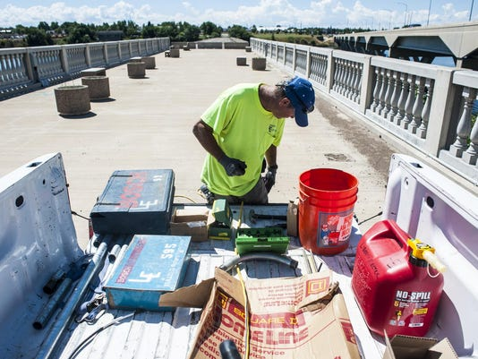 10th St. Bridge Electric Work