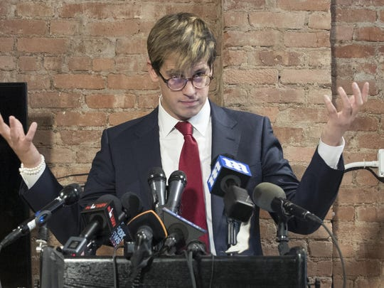 Milo Yiannopoulos has resigned as editor of Breitbart Tech after coming under fire from other conservatives over comments on sexual relationships between boys and older men.