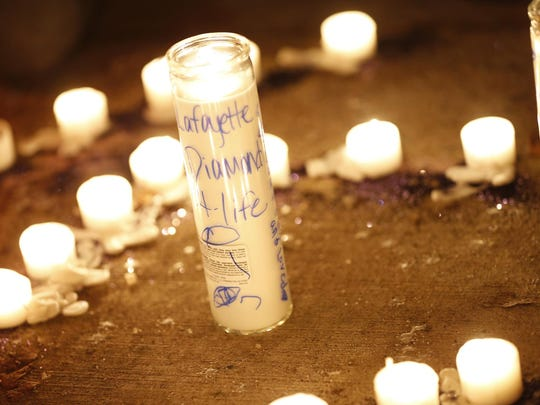 A candlelight vigil was held in Flora after a house fire that killed four children.