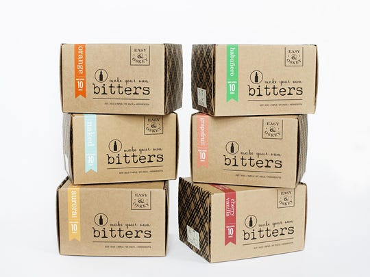 Bitters kits from Easy and Oskey.