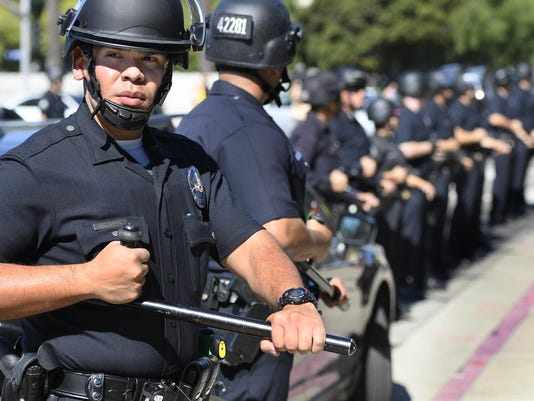 Immigration Protest-Los Angeles