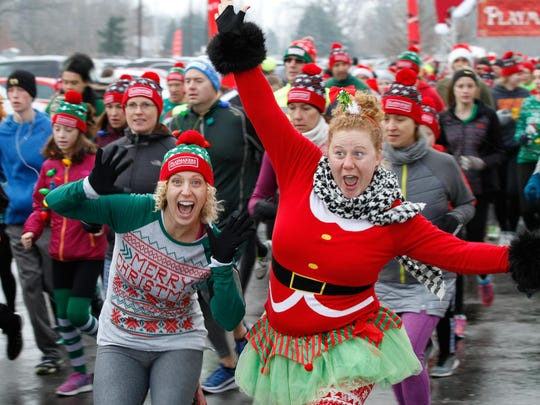 The Holiday Spirit 5K will be on Sunday, Dec. 24; at Jennison Field House.