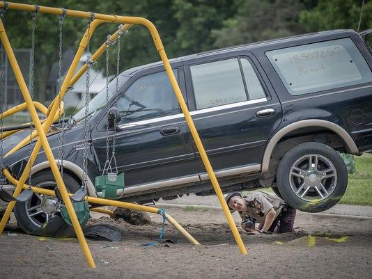 Playground Crash