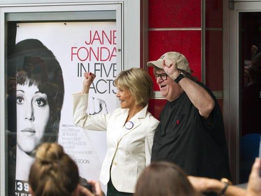 Jane Fonda,Michael Moore