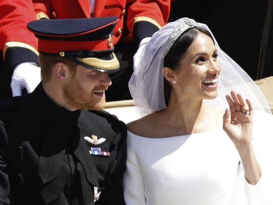 Britain Royal Wedding Outfits