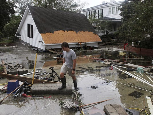 Hurricane Florence Aftermath - New Bern NC