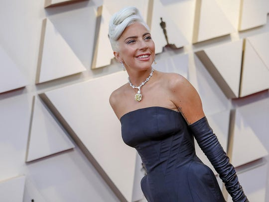 Lady Gaga during arrivals at the 91st Academy Awards on Sunday, Feb. 24, 2019, at the Dolby Theatre at Hollywood & Highland Center in Hollywood, Calif. (Jay L. Clendenin/Los Angeles Times/TNS)